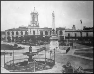 PlazaVictoriaPlazaMayo1861